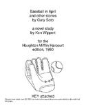 Novel Study: Baseball in April