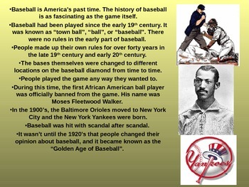 Baseball in the 1920's