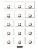 Baseball labels, name tags, bulletin boards, and charts