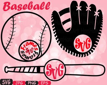 Baseball sport circle SVG Mascot cutting clipart t-shirt m