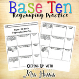 Based Ten Regrouping - Tens and Ones