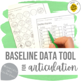 Back-to-School Baseline Data Tool for Articulation