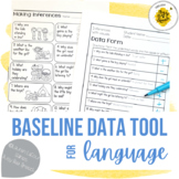 Baseline Data for Language Skills: Vocabulary, WH, Grammar