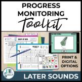 Baseline Data & Progress Monitoring Pack: Articulation Later Sounds w/ NO-PRINT
