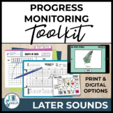 Baseline Data & Progress Monitoring Pack: Articulation Later Sounds w/ NO-PRINT