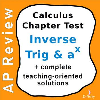Bases Other Than e, Inverse Trig - Derivatives & Integrals Test / Calculus AP