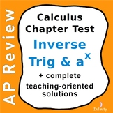 AP Calculus Test - bases other than e, inverse trig