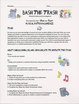 Musical Instrument - Bash the Trash