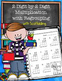 Basic 2-Digit by 2-Digit Multiplication with Regrouping