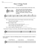 Basic 3-string Chord worksheet