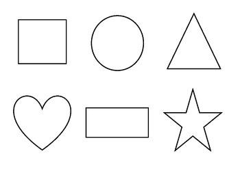 Basic 6 shape matching activity
