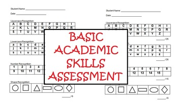 Basic Academic Skills Assessment