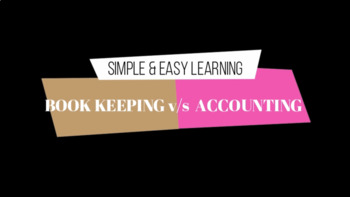Basic Accounting - Difference between book keeping and Accountancy