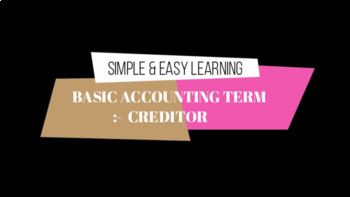 Basic Accounting Terms - Part 2