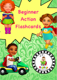 Beginner Action / Verb Learning Flashcard Package