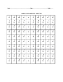Basic Addition Quiz (0-9's)