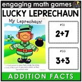 Saint Patrick's Day Addition Facts Game