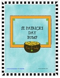 Basic Addition Facts Bump:  St. Patrick's Day Theme