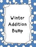Basic Addition Facts Bump:  Winter Theme
