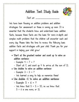 Basic Addition Facts Strategies