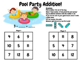 Basic Addition Game: Pool Party!