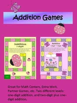 Basic Addition Games