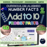 Basic Addition Making Tens Facts Single Digit Number Facts Frogs