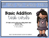 Basic Addition Math Task Cards