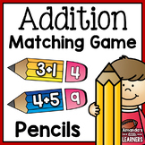 Addition Fact Matching Pencils