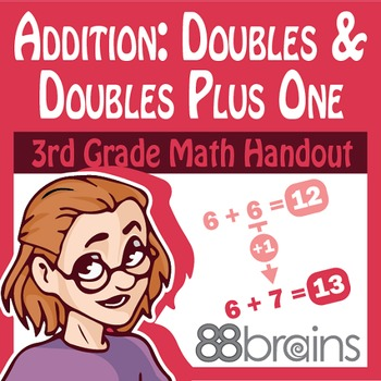 Basic Addition: Doubles and Doubles Plus One Pgs. 3 & 4