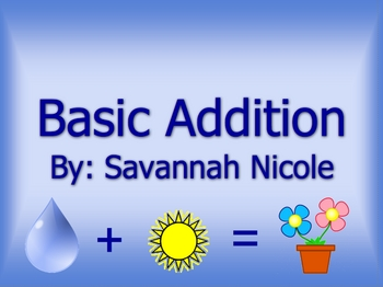 Basic Addition PowerPoint