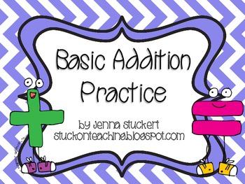 Basic Addition Practice