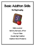 Basic Addition Skills (No Regrouping)