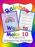 Basic Addition Strategies- Rainbow Ways to Make 10
