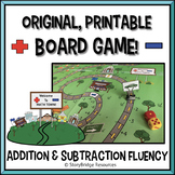 Basic Addition & Subtraction Facts Board Game