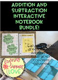 Basic Addition/Subtraction Interactive Notebook BUNDLE!