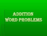 Basic Addition Word Problems