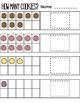 Basic Addition Worksheet Set - How Many Cookies?