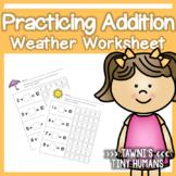 Basic Addition Worksheet Set - Weather