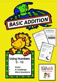 Basic Addition Worksheets (Numbers 0 - 10)