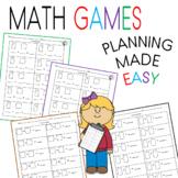Basic Addition Worksheets for Pre-K - 2