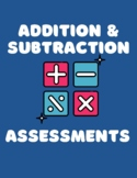 Basic Addition and Subtraction Fact Timed Tests