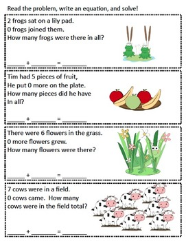 Addition Activity Pack - Basic Addition to 10 - Common Core Aligned