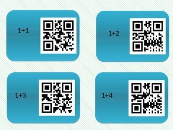 Basic Addtion QR Codes