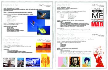 Basic Adobe Illustrator Project Packet