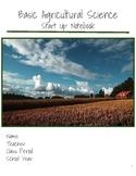 Basic Agriculture Science Start Up Notebook BUNDLE