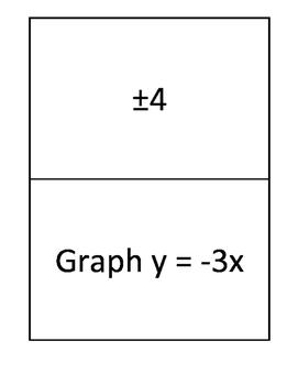 Basic Algebra Skills Scavenger Hunt