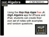 Basic Algebra Using Free iPad App