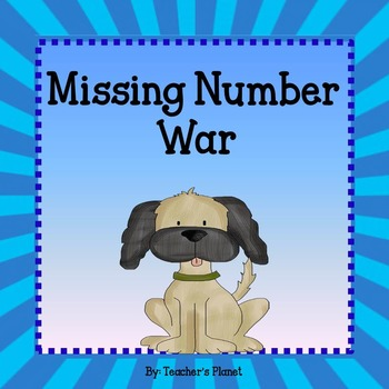 Missing Number Task Cards and War!