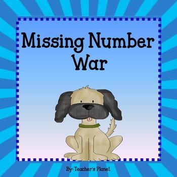 Missing Number Task Cards and War!